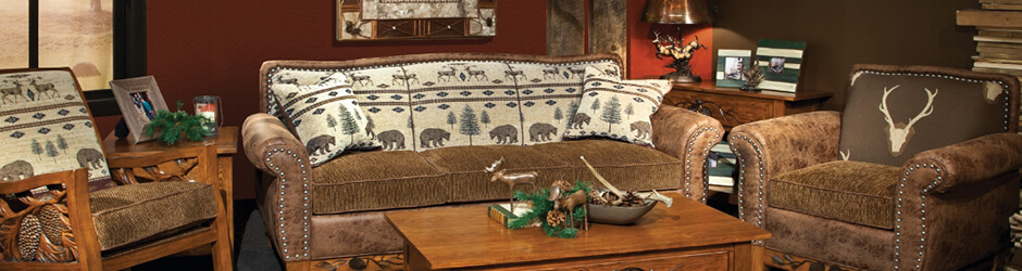 Living Room Furniture in Plymouth, NH | Cozy Cabin Rustics